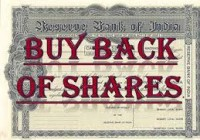 Buyback of securities