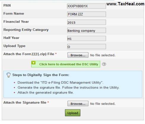 Form 61, Form 61B & Form 15CC
