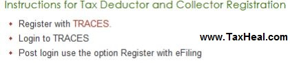 Tax Deductor registration