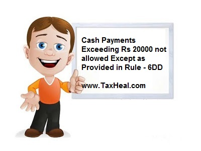 section 40a(3) Cash Payment