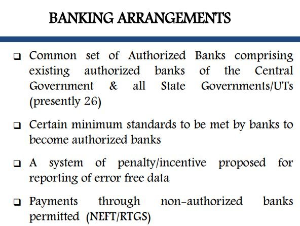 19.banking arrangements