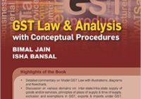 GST Law & Analysis with Conceptual Procedures (October 2016)