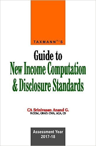 Book on ICDS Guide to New Income Computation & Disclosure Standards