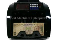 Note counting machine with Fake Detection -Indian Rupees