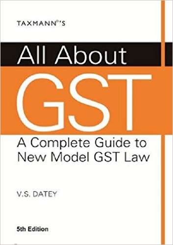 All about GST -GST Books