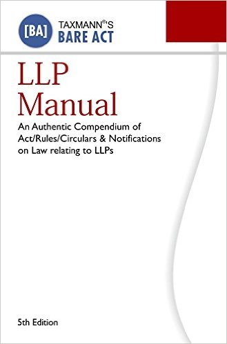 Limited Liability Partnership LLP manual