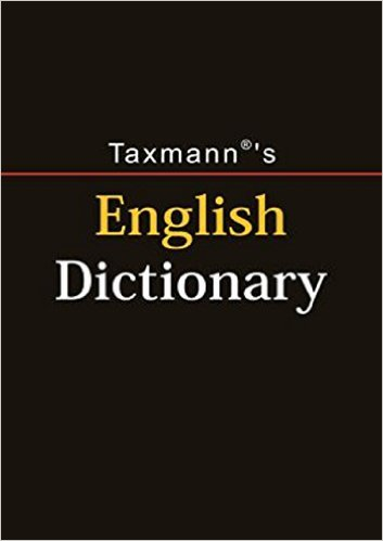 English Dictionary by Taxmann