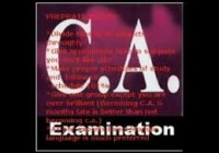 Chartered Accountancy Exam