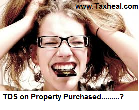 TDS on Purchase of Property