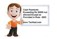 section 40a(3) Cash Payment