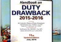 duty drawback Book