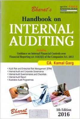 Handbook on Internal Auditing