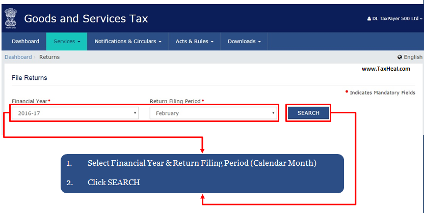 TaxHeal - GST and Income Tax Complete Guide Portal