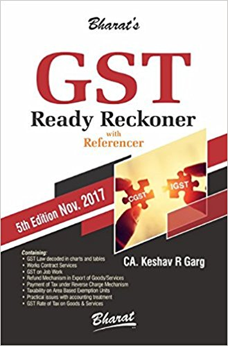 Bharat's GST Ready Reckoner