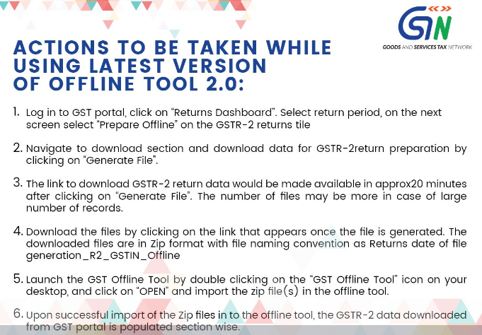 How to Download GSTR 2 data from GST Portal