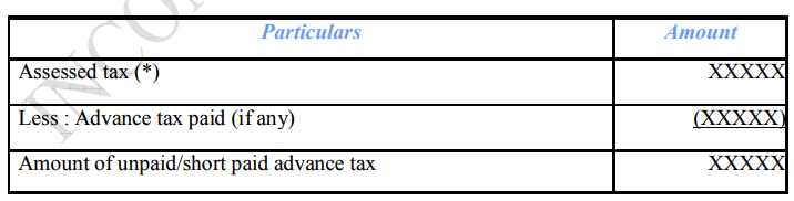 section 234 c interest income tax