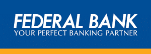 Federal Bank Cash and cheque deposit slip