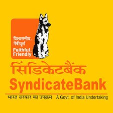 Syndicate Bank Cash and cheque deposit slip