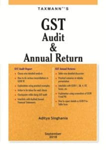 Taxmann GST Audit & Annual Return